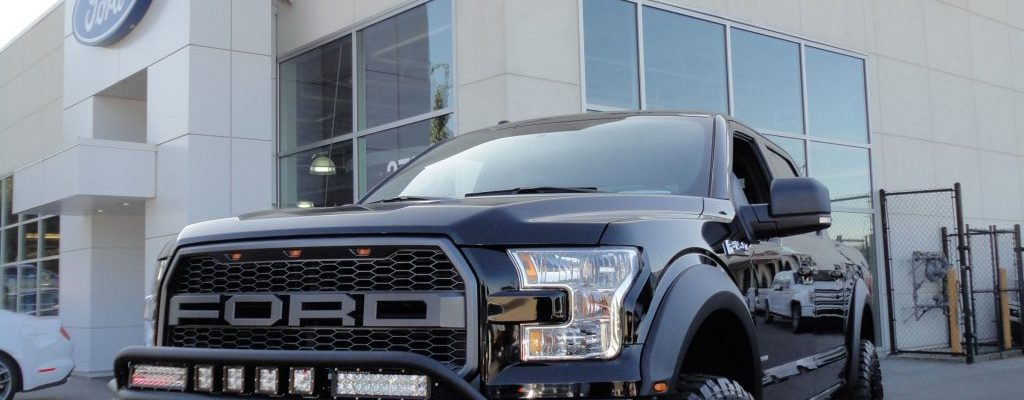 Brown Bros Racing 2017 F150 XLT Front and Logo