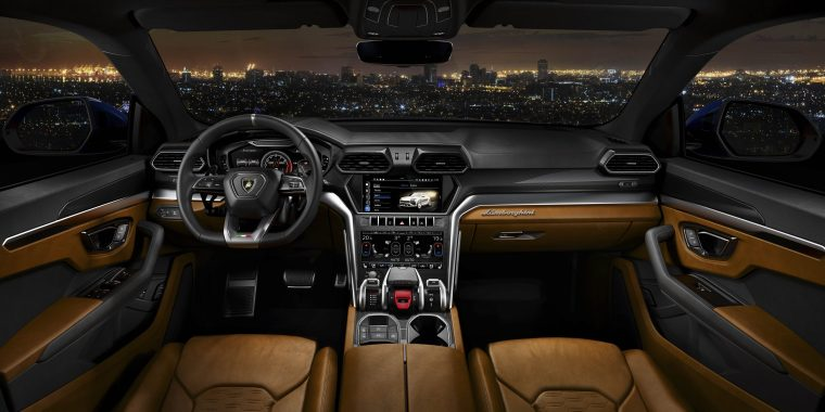 Lamborghini Urus Interior #1