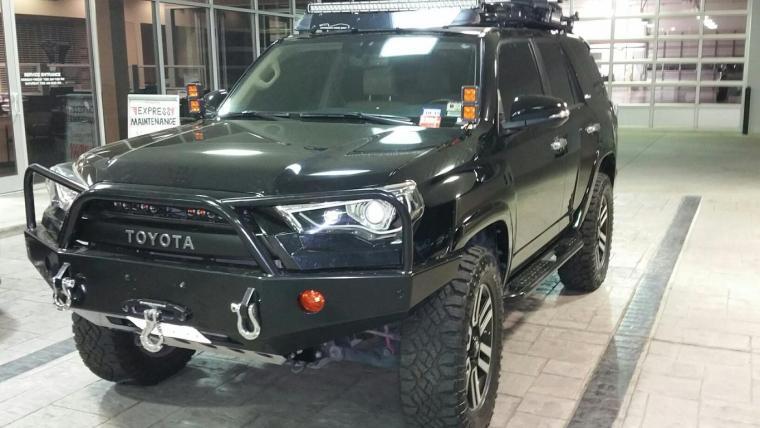 Toyota 4Runner Aftermarket Bumper