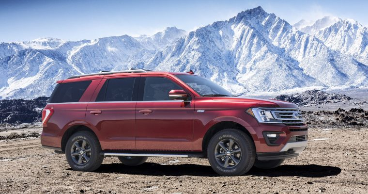 2018 Ford Expedition Exterior Side