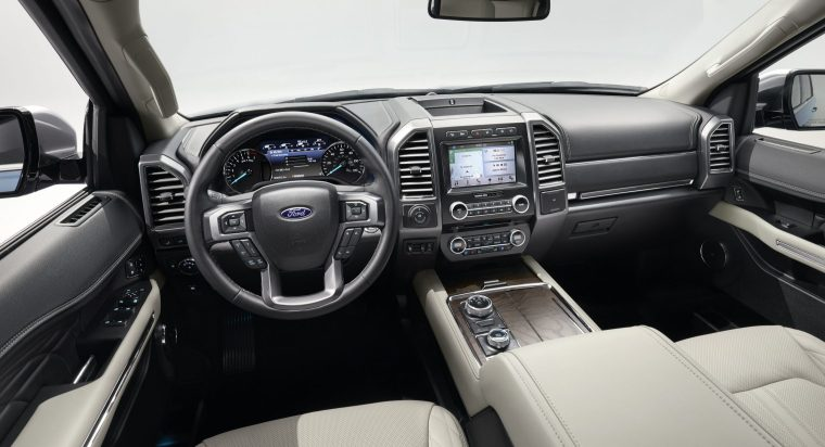 2018 Ford Expedition Interior Front