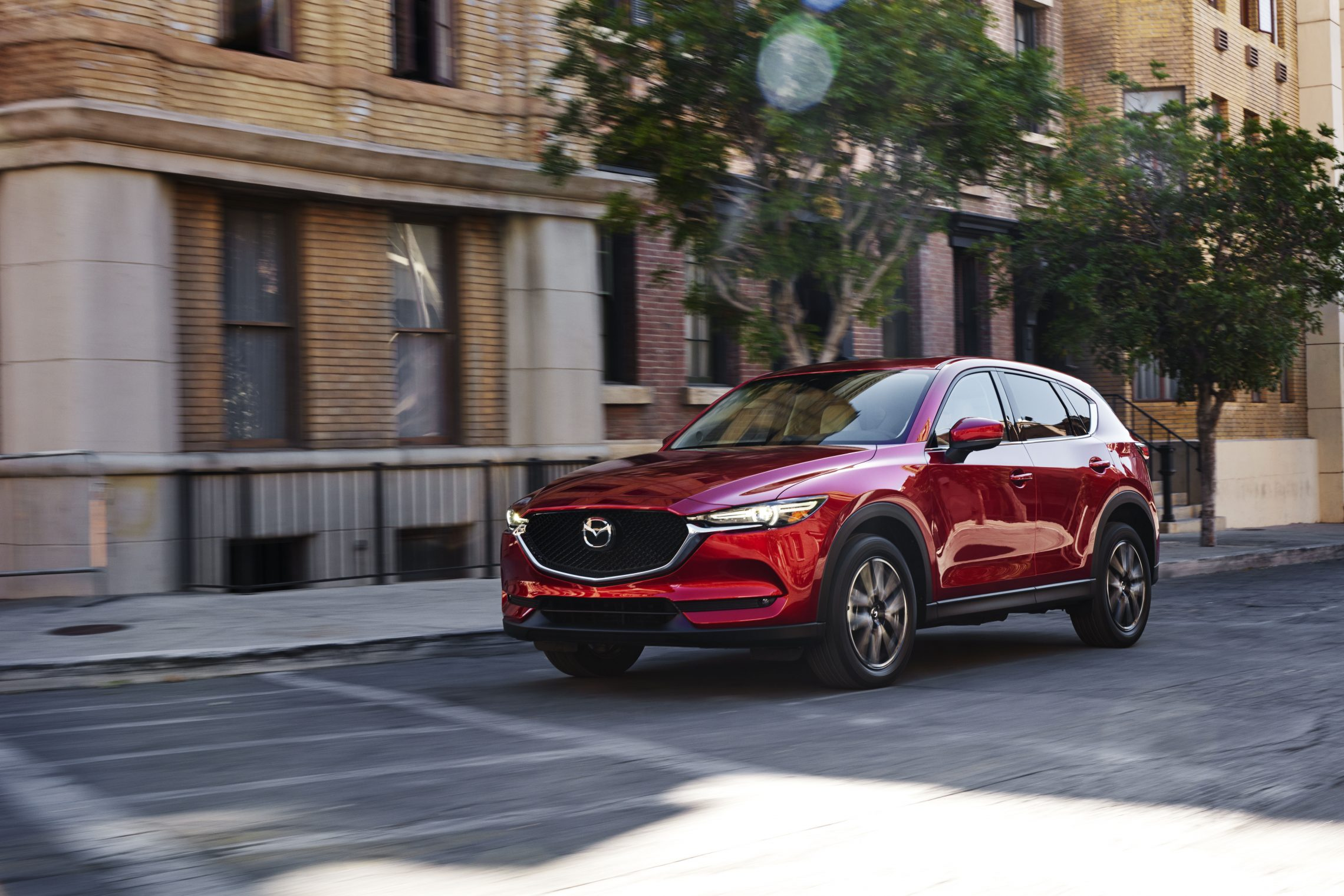 2018 Mazda CX-5 Exterior Driving Towards