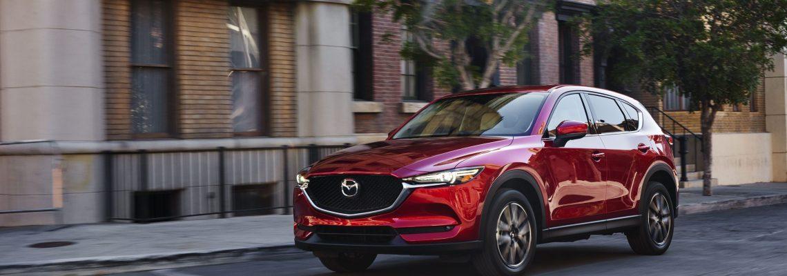 2018 Mazda CX-5 Exterior Driving Towards