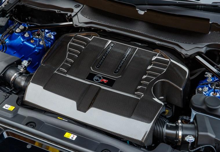 2018 Range Rover Sport SVR - Exterior Engine