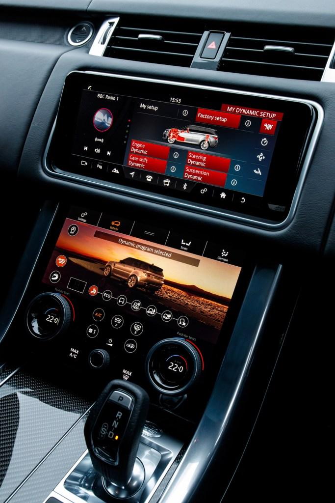 2018 Range Rover Sport SVR - Interior Dash