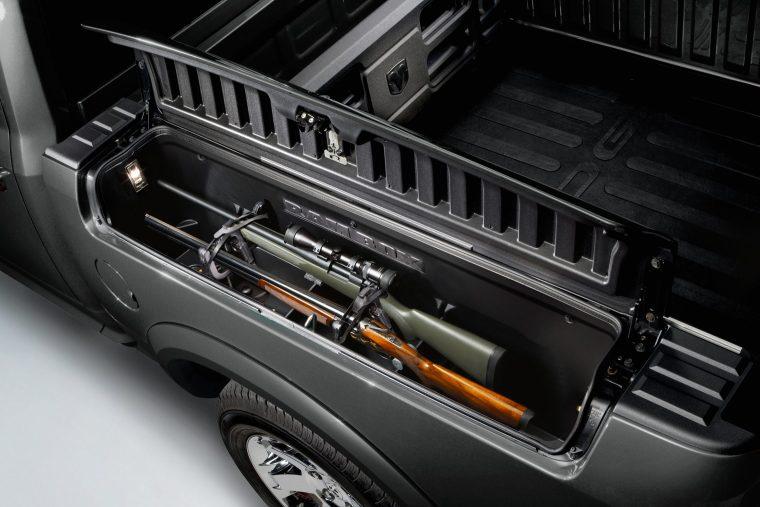 2018 Ram 1500 RamBox with Mopar holster system