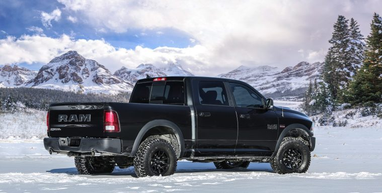 2018 Ram 1500 Rebel Crew Cab 4x4 Black