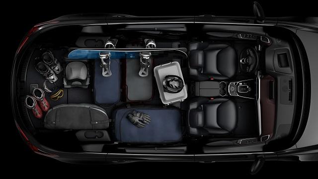 2018 Mazda CX-9 - Interior Layout Folded