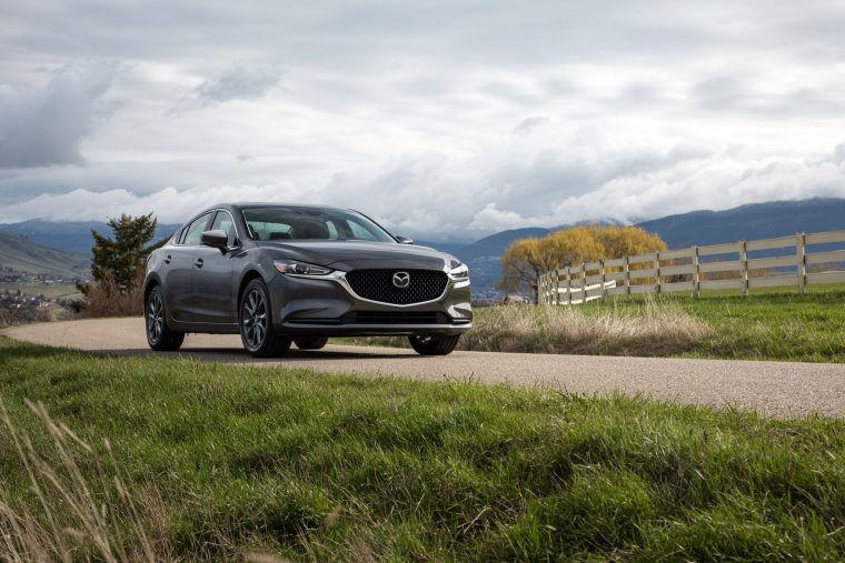 2018 Mazda6 - Exterior Front and Side