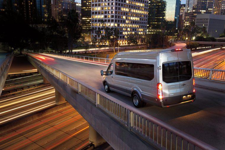 2019 Ford Transit 350 XLT HR LWB EL Passenger Van in Ingot Silver