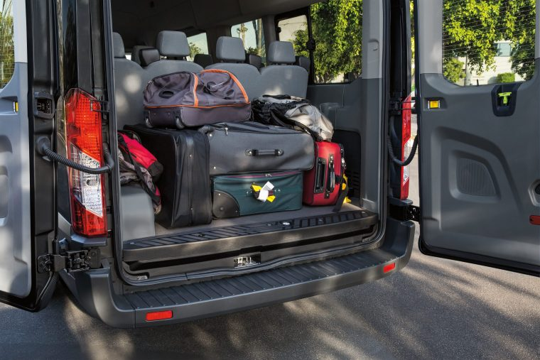 2019 Ford Transit XLT EL Passenger Van cargo area