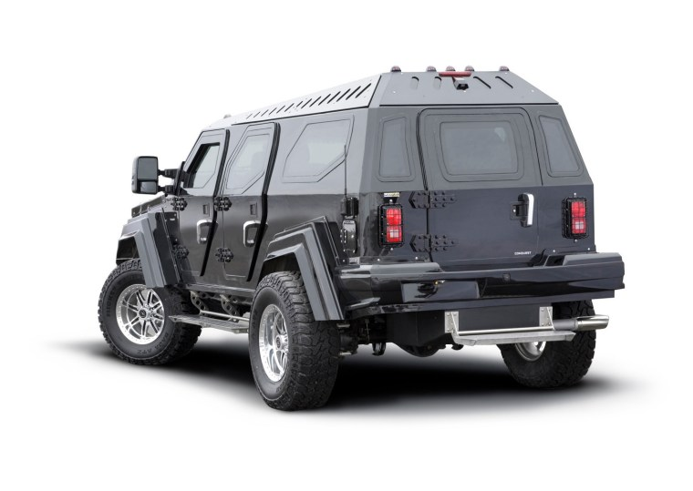 Conquest Vehicles - Knight XV - Exterior Rear