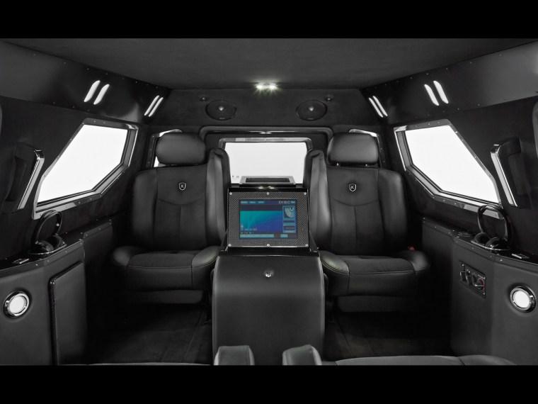 Conquest Vehicles - Knight XV - Interior