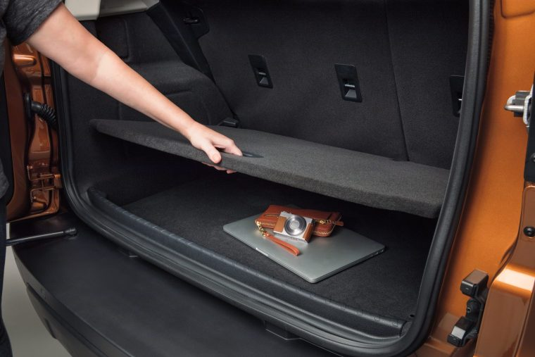 2019 Ford EcoSport cargo area