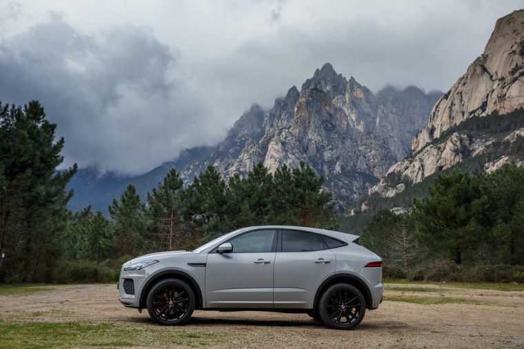 2018 Jaguar E-Pace - Exterior Side