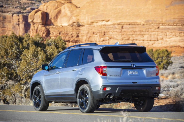 2019 Honda Passport - Rear