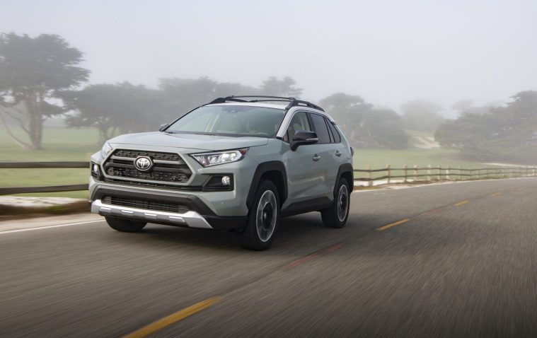 2019_Toyota_RAV4_Trail-Front Action