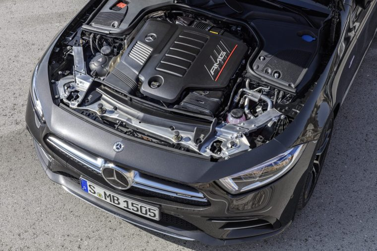 2019-Mercedes-Benz-CLS-53-AMG-Engine-Compartment