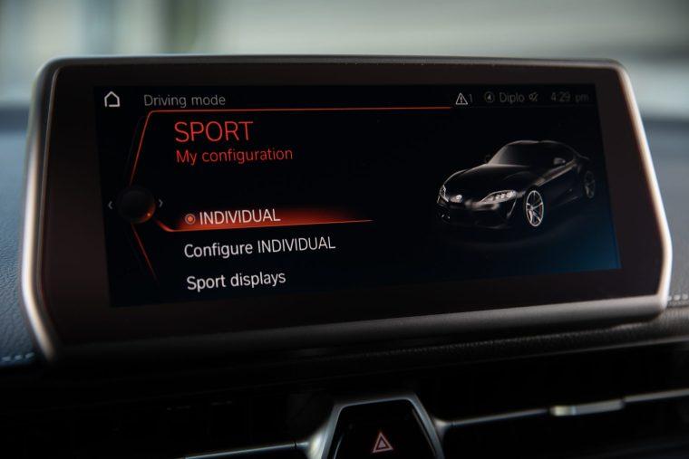 2020 Toyota Supra - Interior Infotainment