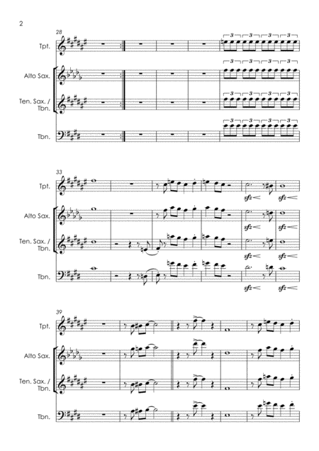 Sweet home chicago was … Sweet Home Chicago Horn Parts Music Sheet Download Topmusicsheet Com