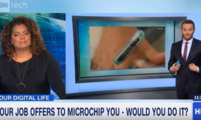 """Would you get """"Microchipped"""" to make Transactions Easier?"""