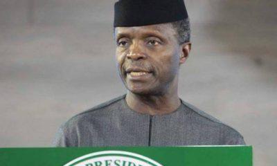 Nigeria's Unity Non-negotiable - Osinbajo