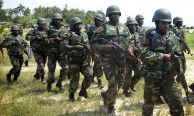 Injured Soldiers Insists On Continuing The Fight Against Boko Haram
