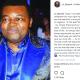 Caroline Danjuma celebrates ex hubby, Musa Danjuma on Social media