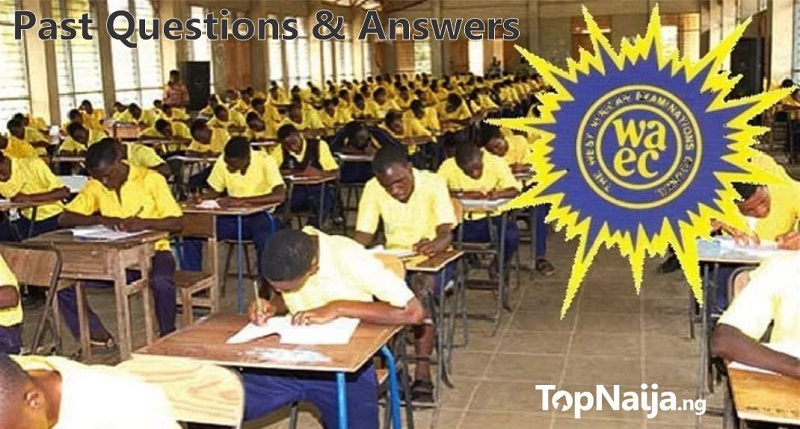 Waec Past Questions Pdf