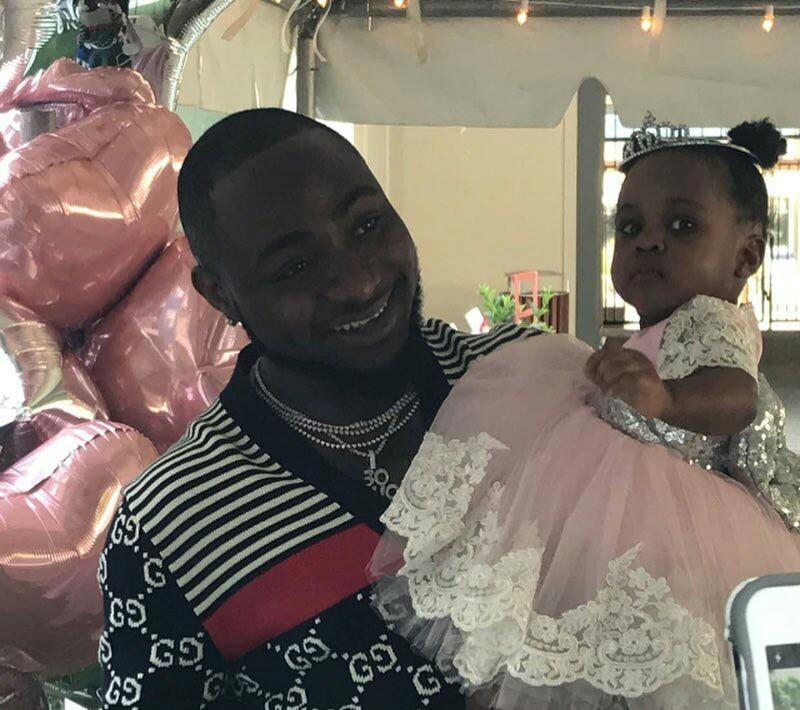 Davido Throws 1st Birthday Party For His Daughter Hailey In Atlanta Photos