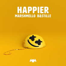 Video+Lyrics: Marshmello Ft. Bastille - Happier