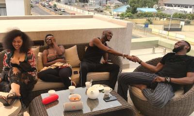2Baba, D'banj and their Wives are on Baecation!