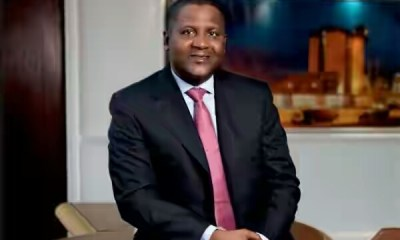 Aliko Dangote gains ground, becomes 64th richest in the world