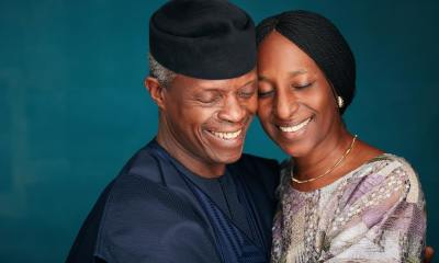 Osinbajo's Wife Thankful For Preservation Of Husband's Life During Air Crash