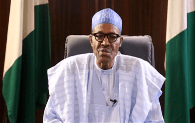 Image result for buhari broadcast