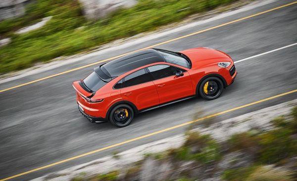 See Exclusive Photos Of 2020 Porsche Cayenne Coupe Car