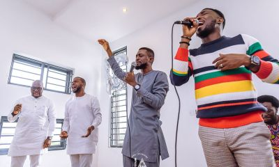 Adebola Williams begins Birthday Celebration with Intimate Praise Session | See Photos