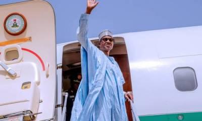Buhari in Lagos