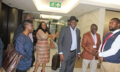 Jonathan join leaders to monitor South Africa's general election
