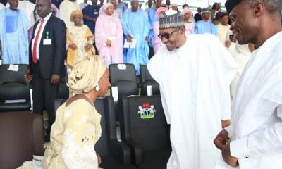 See all the photos from Buhari and Osinbajo's inauguration