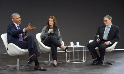 How Bill Gates and Barack Obama schemed to Surprise Melinda Gates
