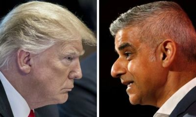 You're a global threat - Trump and Mayor of London words battle