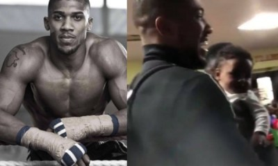 Anthony Joshua visits Nigeria after two years