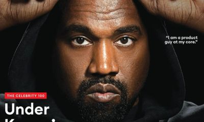 Kanye West is third highest paid celebrity in Forbes' The Celebrity 100