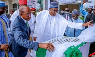Buhari launches CBN centre of excellence in ABU topnaija