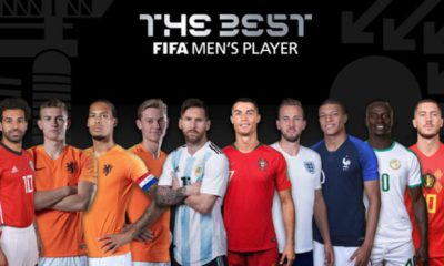 Three Liverpool players join Messi and Ronaldo on FIFA  best player list [FULL LIST]