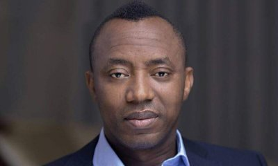 """DSS confirms arrest of Sowore, gives """"forceful takeover of government"""" as reason"""