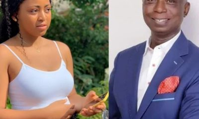 59 year old Ned Nwoko all loved up with Regina Daniels in new video