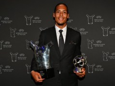 Van dijk wins UEFA player of the year