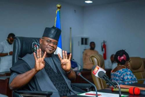 Yahaya Bello wins APC primaries